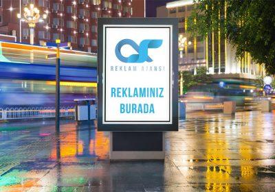 Taksim Reklam Çalışması